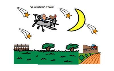 """""""W AEROPLANIE"""" J.TUWIM"""